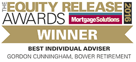 Equity Release Awards Winner, Best Individual Adviser - Gordon Cunningham