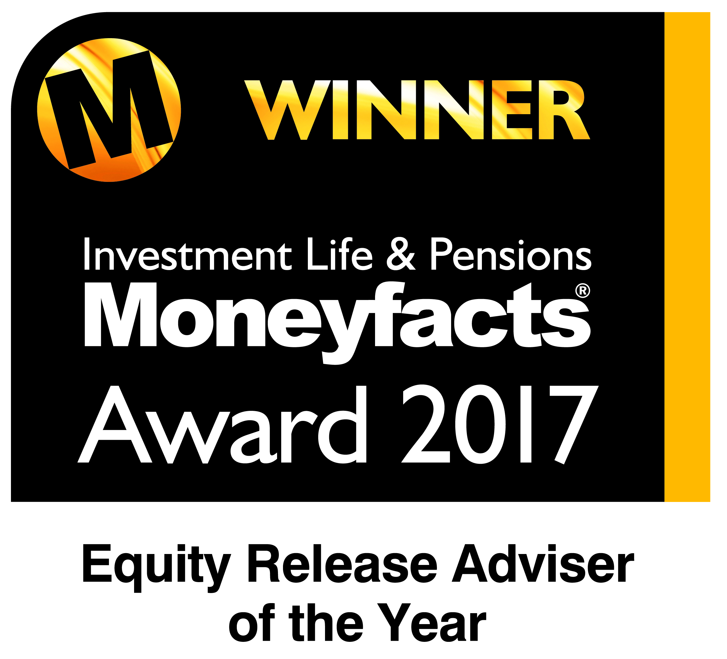 Moneyfacts awards 2017 - winner